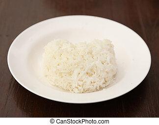 rice heart shape