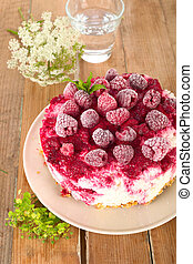 Rice pudding cake