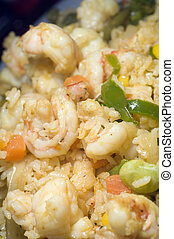 rice with mixed seafood nicaragua style