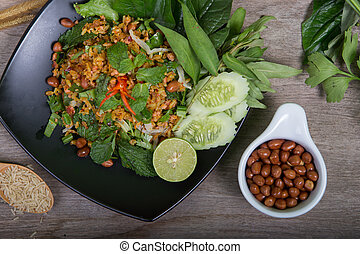 Rice with vegetables (Vegetarian for good health )