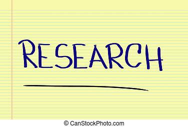 ricerca, concetto