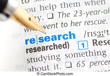 ricerca, -, dizionario, serie