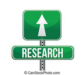 ricerca, segno strada