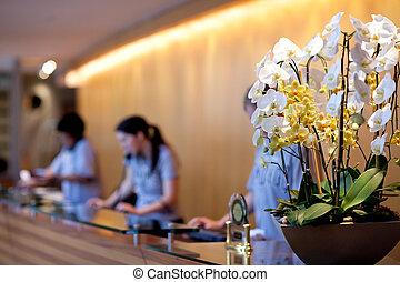 ricezione hotel