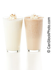 Rich and Creamy Milkshake with whipped cream