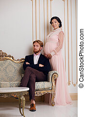 Rich couple expecting baby