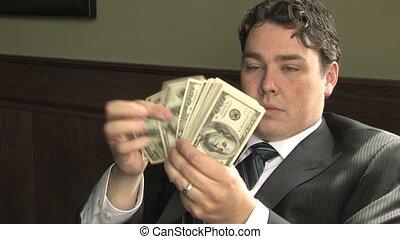 Rich Guy Counts Money 2