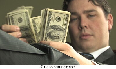 Rich Guy Counts Money 3