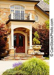 Rich Home Entrance