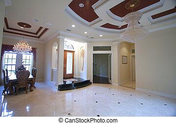 Rich home interiors
