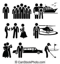 Rich Man Clipart