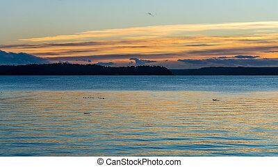 Rich Northwest Sunset 3