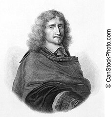 Richard Browne (1610-1669) on engraving from the 1800s. ...