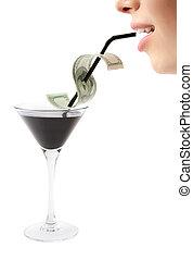 riche, boisson