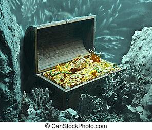 riches - underwater treasure