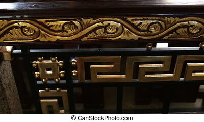richly decorated wooden railing - beautiful wooden railing...