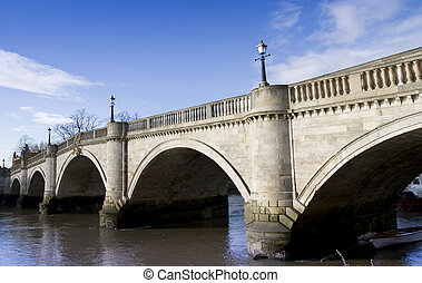Richmond Bridge in Winter