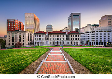 richmond, cityscape, virginia