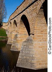 richmond, histórico, ponte