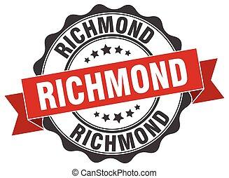 Richmond round ribbon seal