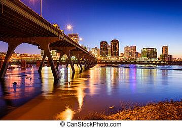 Richmond Skyline - Richmond, Virgina, USA downtown skyline...
