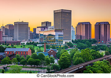 Richmond Virginia Skyline