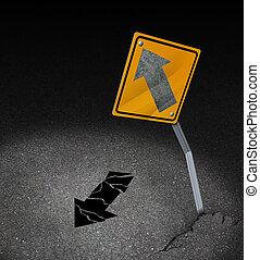 richting, probleem