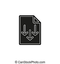 richtingwijzer, symbool, -, illustratie, vector, bestand, downloaden, document, pictogram