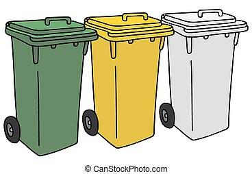 riciclaggio, pattumiere