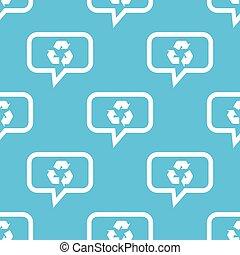riciclare, modello, messaggio