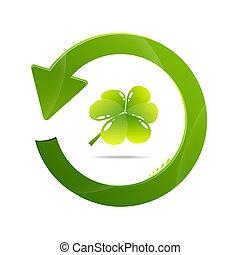 riciclare simbolo