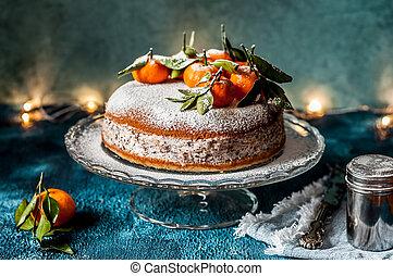 Ricotta Tangerine Cake
