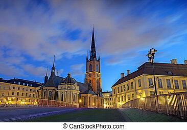 riddarholmen, iglesia