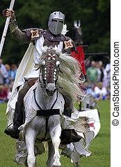 riddere, jousting