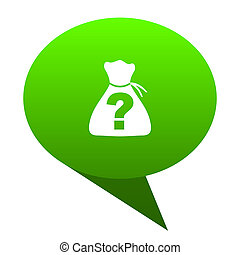 riddle green bubble icon