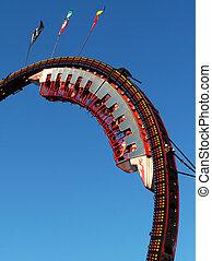 An amusement park ride