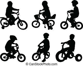 ride cykel, børn