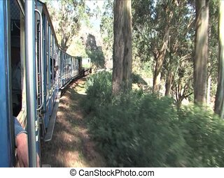 Ride the heritage stream train, India from Ooty to Coonoor