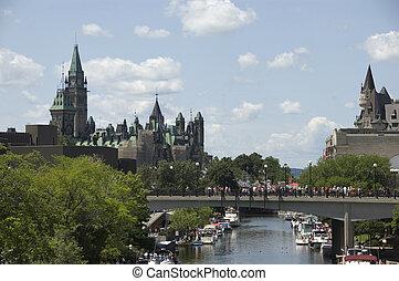 Rideau Canal Ottawa Canada