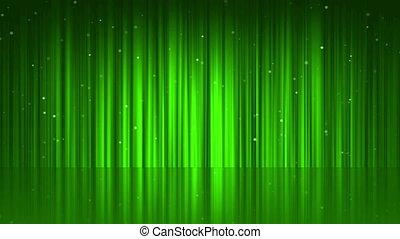 rideau, ligne, arrière-plan vert