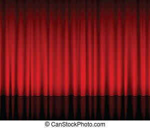 rideau, théâtre