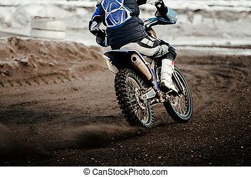 rider enduro motorbike
