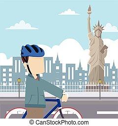 rider tour liberty