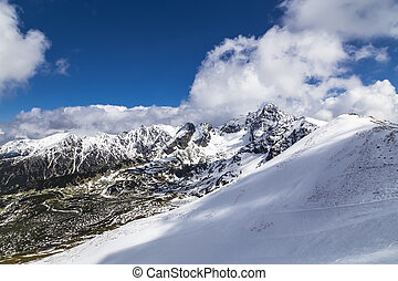 Ridge in the Tatra Mountains