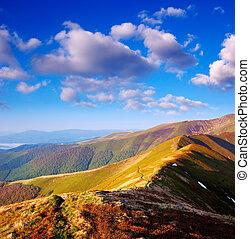Ridge mountains