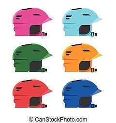 Riding Helmets Set