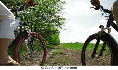 Riding The Bikes
