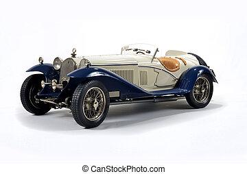 riduce, modellare automobile