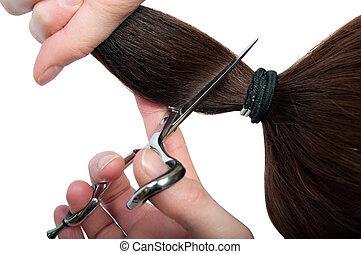 riduzione capelli