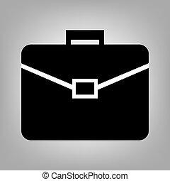 Riefcase flat icon